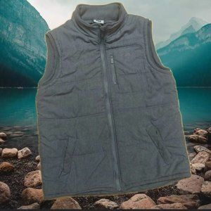FILA . Grey Marle vest As new condition. 3 pocket